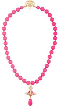 Vivienne Westwood Neon Pearl choker necklace
