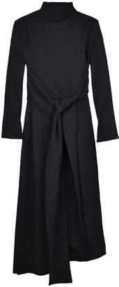 Duarte Long Black Knot Dress