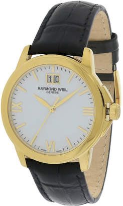 Raymond Weil Men's Leather Watch