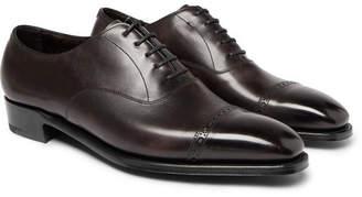George Cleverley Nakagawa Cap-Toe Leather Oxford Shoes