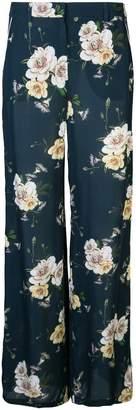 Nicholas floral print trousers
