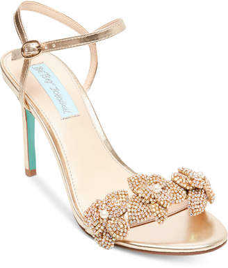 Betsey Johnson Blue By Harlo Evening Sandals Women's Shoes