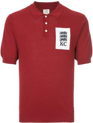 Kent & Curwen lion crest polo shirt