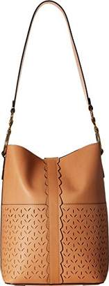 Frye Ilana Perf Bucket Hobo Shoulder Bag