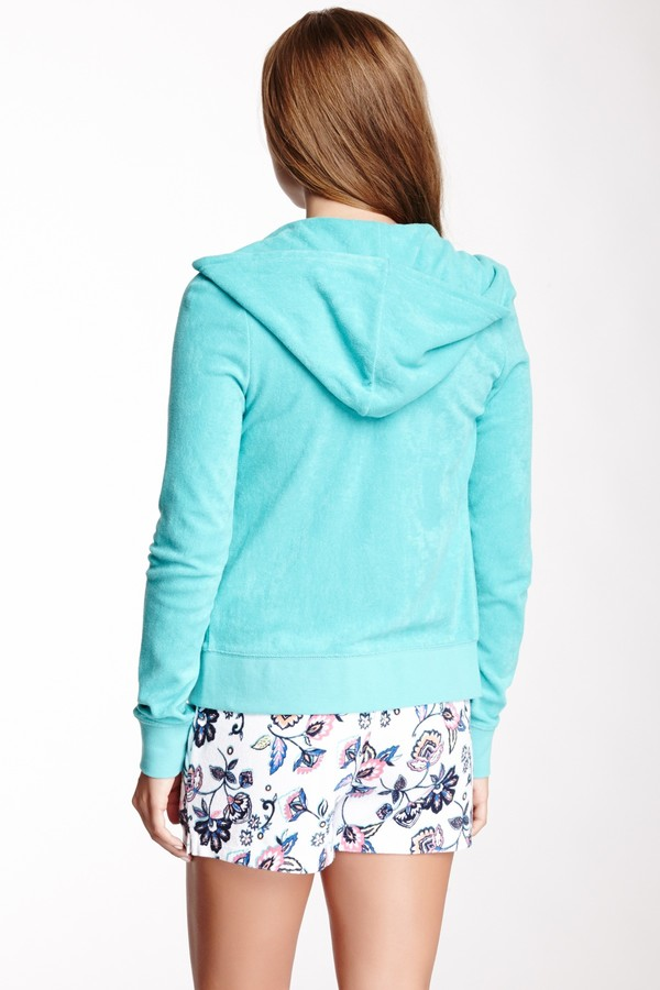 Juicy Couture Micro Terry Jacket