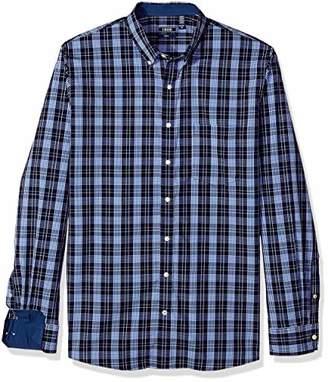 Izod Men's Premium Essential Plaid Long Sleeve Shirt (Big Tall Slim)