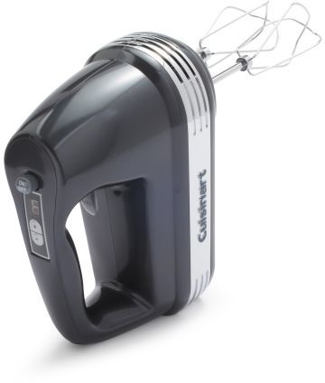 Cuisinart Power AdvantageTM 7-Speed Hand Mixer, Metallic Charcoal