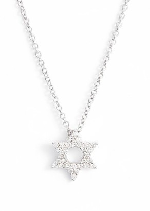 Women's Bony Levy Star Of David Diamond Pendant Necklace (Nordstrom Exclusive) $695 thestylecure.com