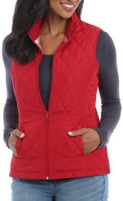 Lee Riders Women's Quilted Reversible Vest