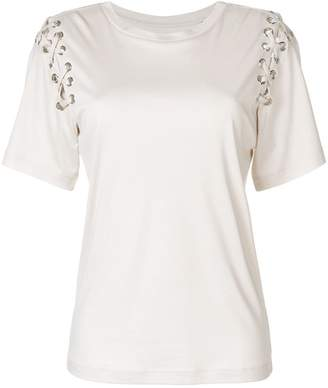 Isabel Marant lace-up sleeve T-shirt