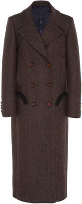 Blazé Milano Lady Anne Mocha Wool Great Coat