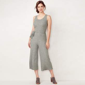 Lauren Conrad Women's Wide-Leg Capri Jumpsuit