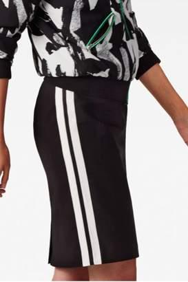 Bandolera Tuxedo Pencil Skirt