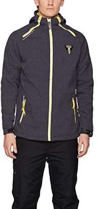 Geographical Norway TAVENTURE Men Sports Jacket, Black, Large