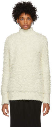 Marni White Virgin Wool Turtleneck