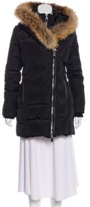 Nicole Benisti Fur-Accented Coat