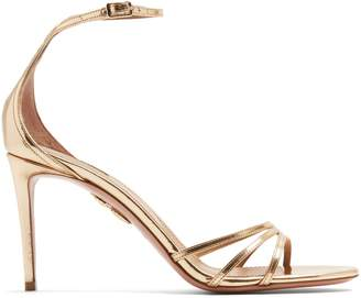 Aquazzura Very Purist 85 ankle-tie high-heel sandals