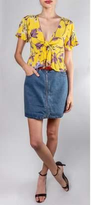 Honey Punch Vintage Inspired Mini-Skirt