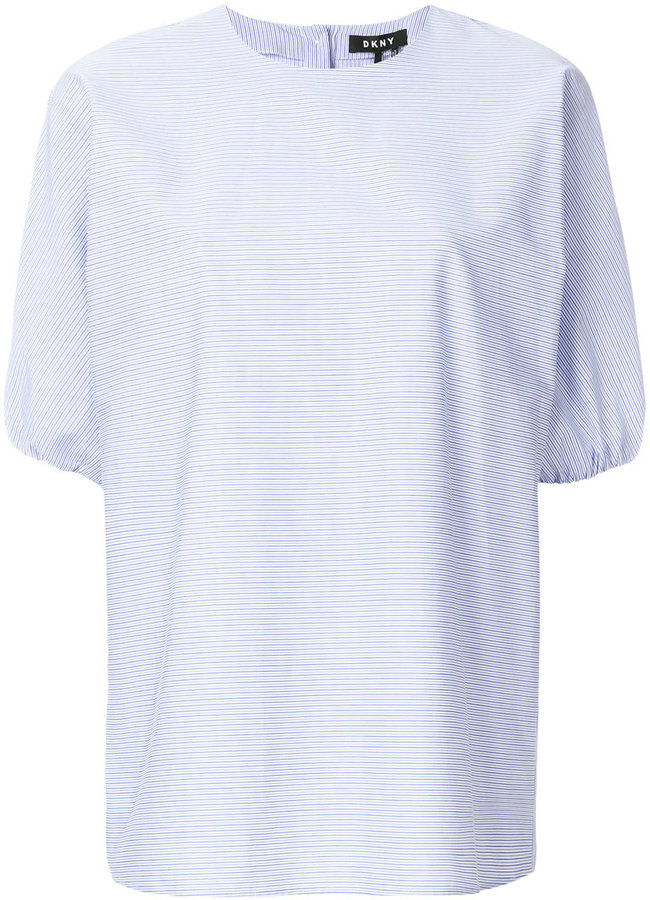 DKNY loose-fit tailored shirt