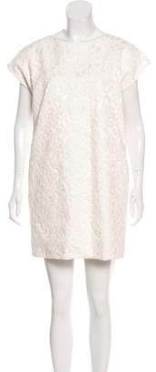 Saint Laurent Lace Sleeveless Dress w/ Tags
