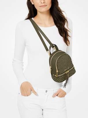 723b4834c9b5 MICHAEL Michael Kors Rhea Mini Studded Leather Backpack