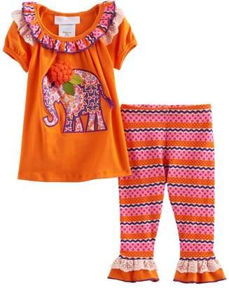 Bonnie Jean Toddler Girl Elephant Tunic & Leggings Set