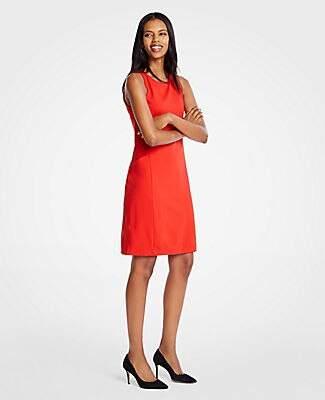 e74fe277347 Ann Taylor Ponte Knit Pocket Shift Dress