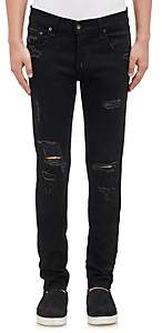 Rag & Bone Men's Fit 0 Distressed Skinny Jeans - Black