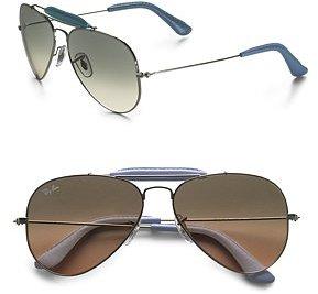 Silver Craft Aviator Sunglasses