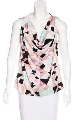 Robert Rodriguez Patterned Sleeveless Top