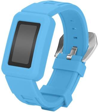 Fitbit GreatTry Hot Sale For Charge 2 Watchband, Silicon Buckle Wrist Watch Band Strap Belt With Case Protect