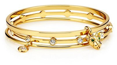 Juicy Couture Leopard Bangle Set