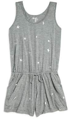 Flowers by Zoe Girls' Foil Star Romper - Little Kid