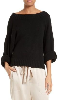 Women's Vince Cashmere Pullover $345 thestylecure.com