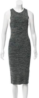 Ronny Kobo Patterned Knit Dress