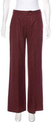 Etro Wool Mid-Rise Pants