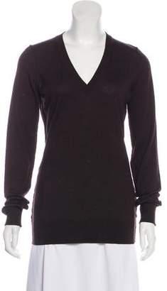 Dolce & Gabbana Virgin Wool V-Neck Sweater