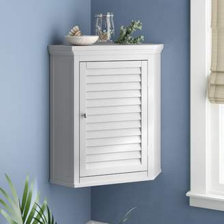 "Beachcrest Home Broadview Park 22.5"" W x 24"" H Wall Mounted Cabinet"