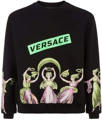 Versace Cupid and Psyche Sweater