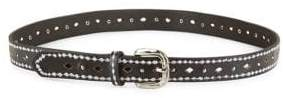 Fashion Focus Embroidered Leather Belt