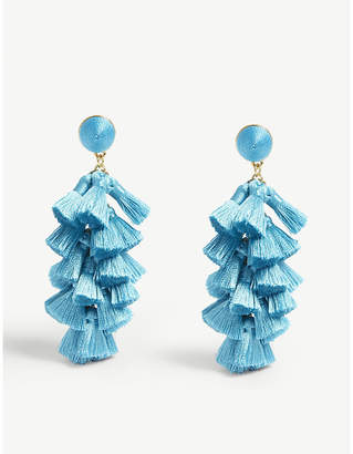 BaubleBar Contessa tassel drop earrings