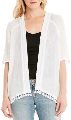 Michael Stars Tassel Trim Kimono Wrap