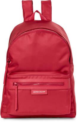 Longchamp Raspberry Le Pliage Neo Large Backpack