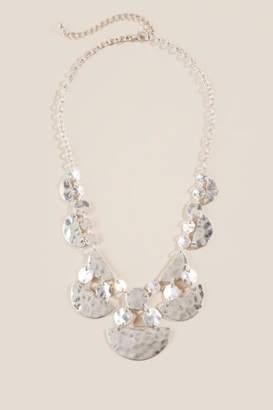 francesca's Kyra Statement Necklace - Silver
