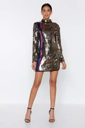Nasty Gal Get This Party Started Sequin Dress