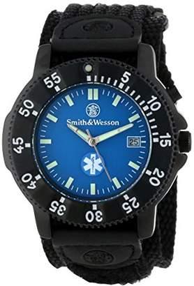 Smith & Wesson Men's SWW-455-EMT EMT Black Nylon Strap Watch