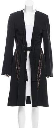 Mary Katrantzou Belted Wool Coat