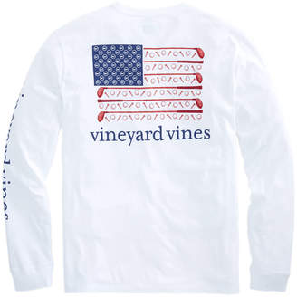 Vineyard Vines Long-Sleeve Golf Flag Pocket T-Shirt