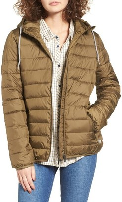 Women's Roxy Forever Freely Puffer Jacket $99.50 thestylecure.com