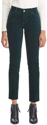 Chaps Women's Stretch Corduroy Staight-Leg Pants